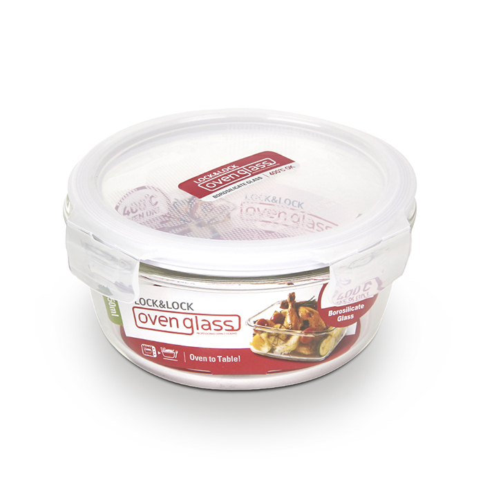 Lock & Lock Euro Round Bake And Store Container 650 ml,Containers