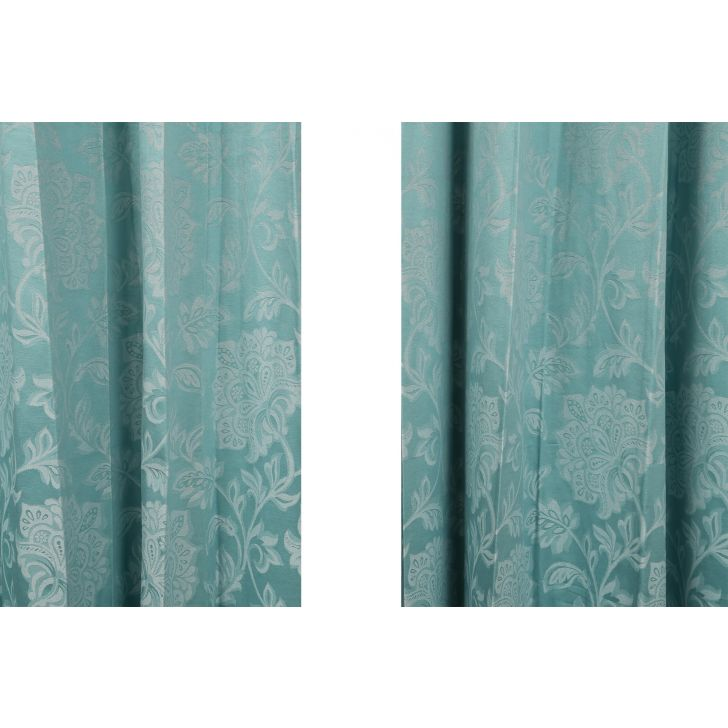 Florina Door Curtain Sea Green,Curtains
