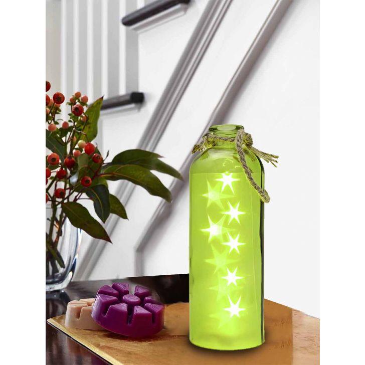 Venus Starlight Cylinder Bottle Lime,Lamps & Lighting