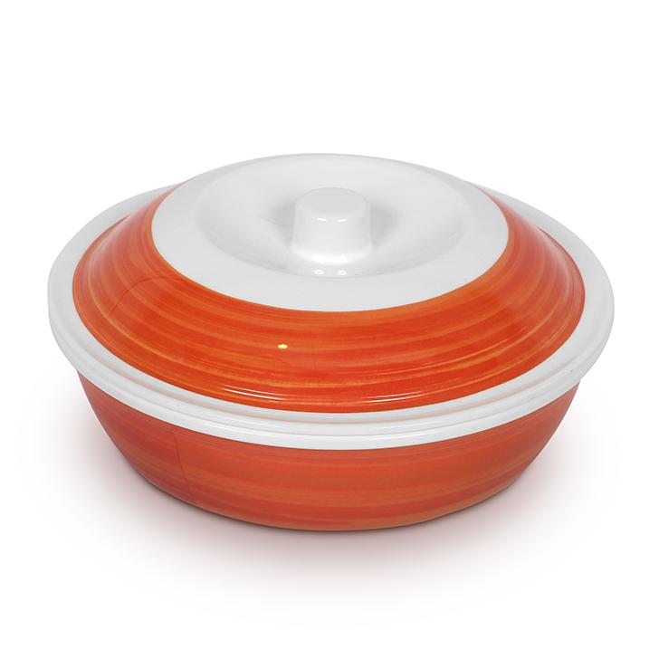 Living Essence Melamine Serving Bowl Copper,Plates