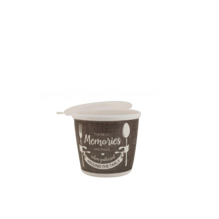 Foodaholic Jars Set Of Two,Kitchenware
