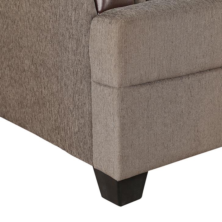 Elanza Royale Fab Single Seater Sofa Olive,All Sofas