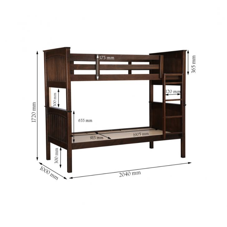 Novitta Bunk Bed,Bedroom Furniture