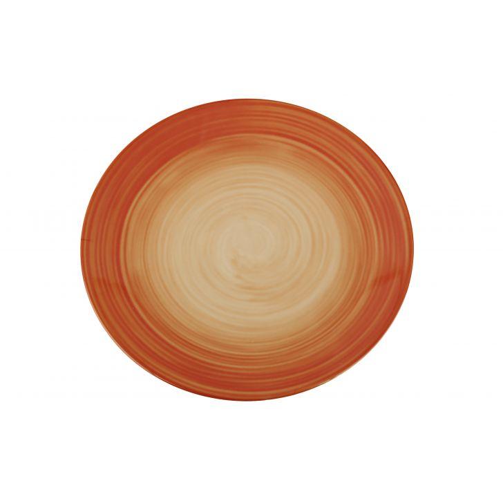 Tangello Swirl Dinner Plate Urmi,Bowls & Plates