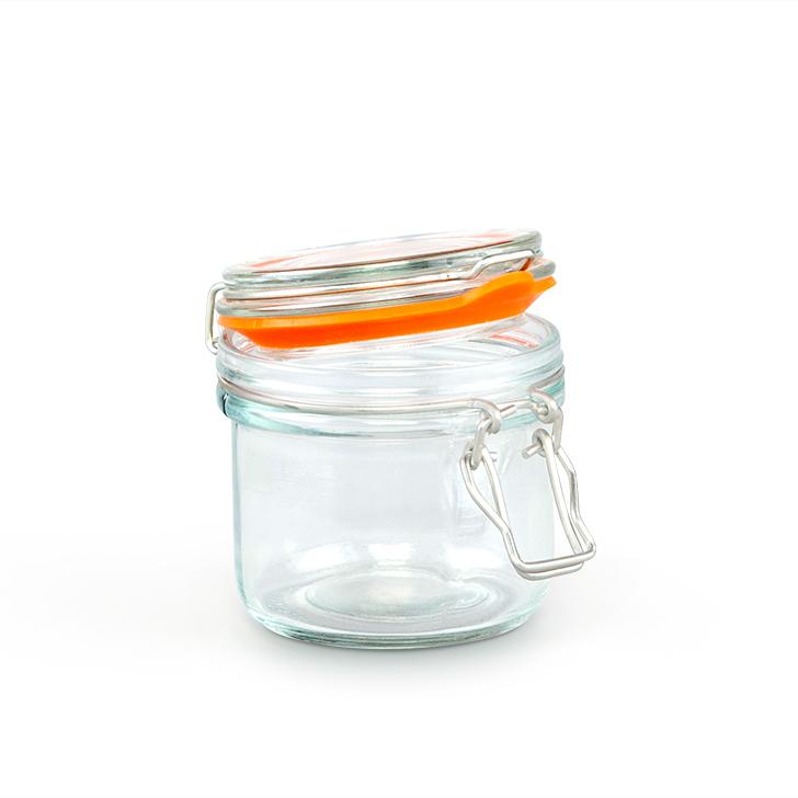 Living Essence Navigator New Tube Clip Jar 200 ml,Kitchenware