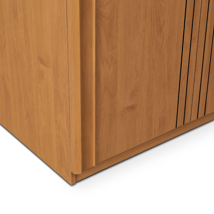 Sylas Two Door Wardrobe Beige,Furniture