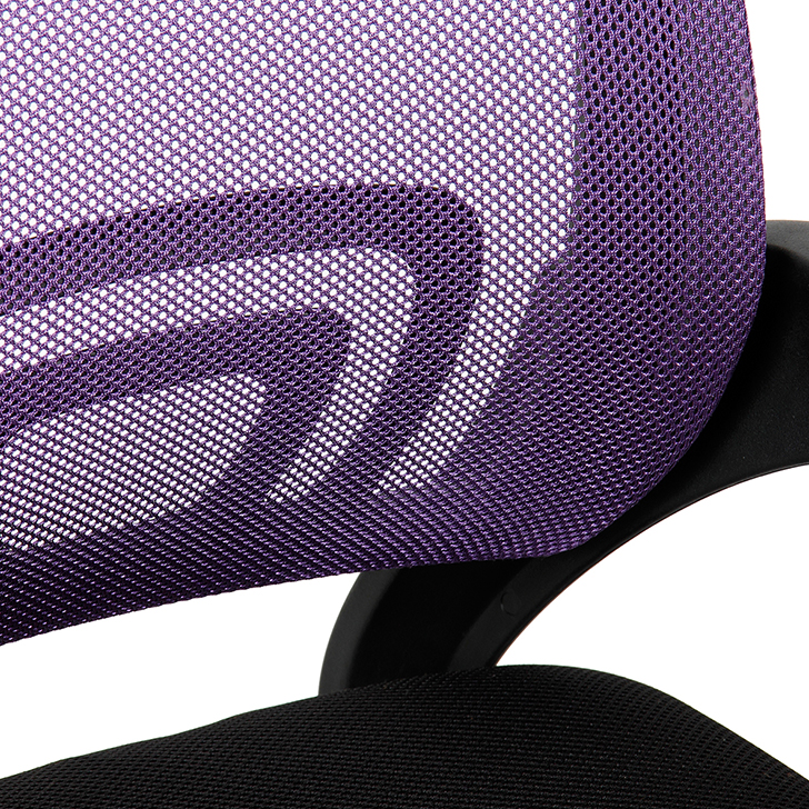 Regus Low Back Mesh Office Chair Purple and Black,Office Chairs