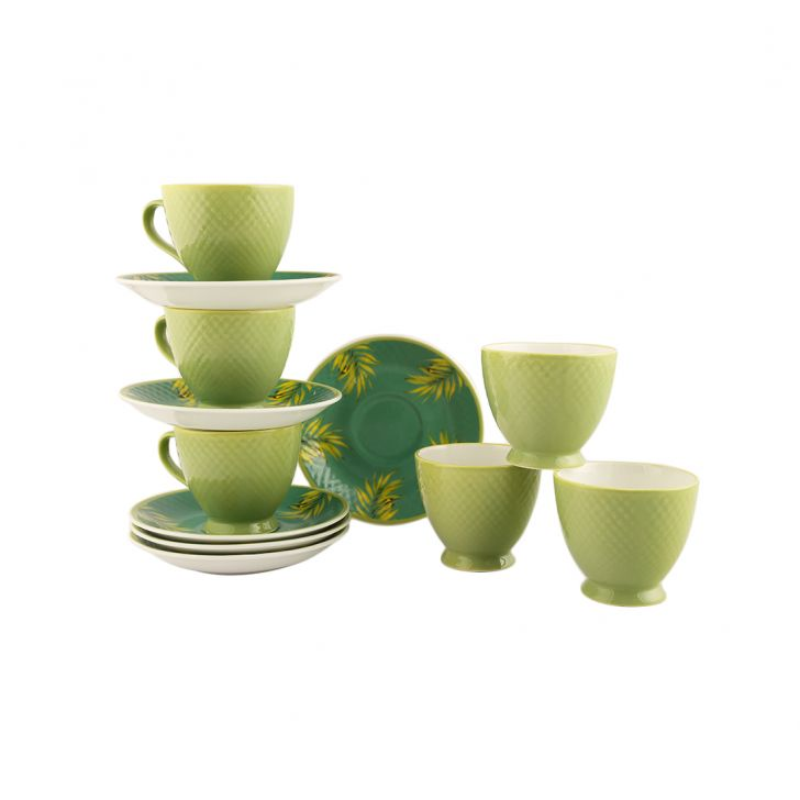 Garden Of Eva Set Of 12 Cup & Saucer,Cups & Saucers