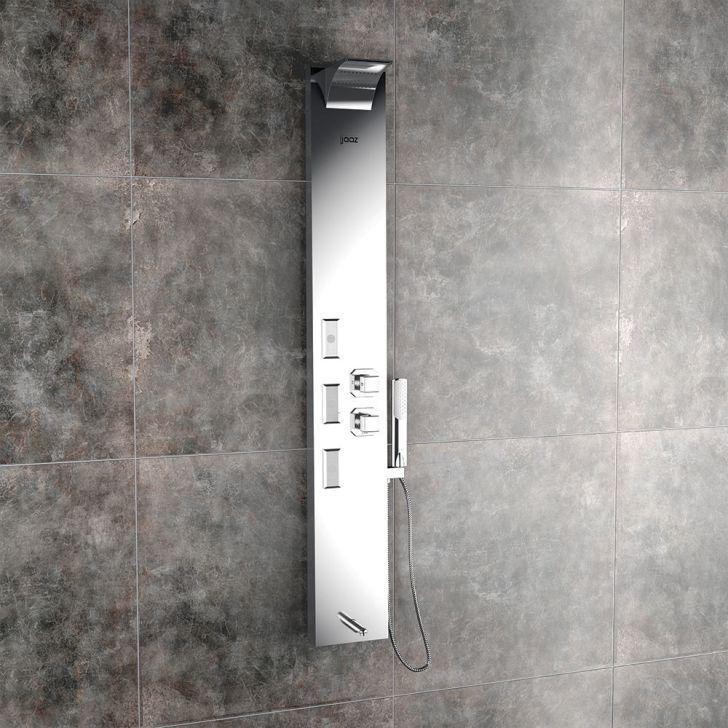 Vito Steel Matt shower panel,Shower Panels