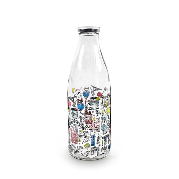 Living Essence ZES Paris Milk Bottle 1 Ltr,Bottles