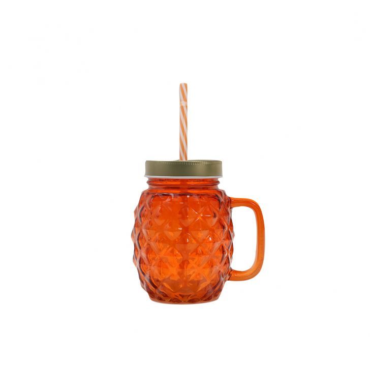 Pineapp Gold & Tangelo Juice Jar,Sippers