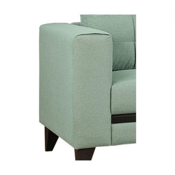 Garcia Fabric Three Seater Sofa Olive,Three Seater Sofas
