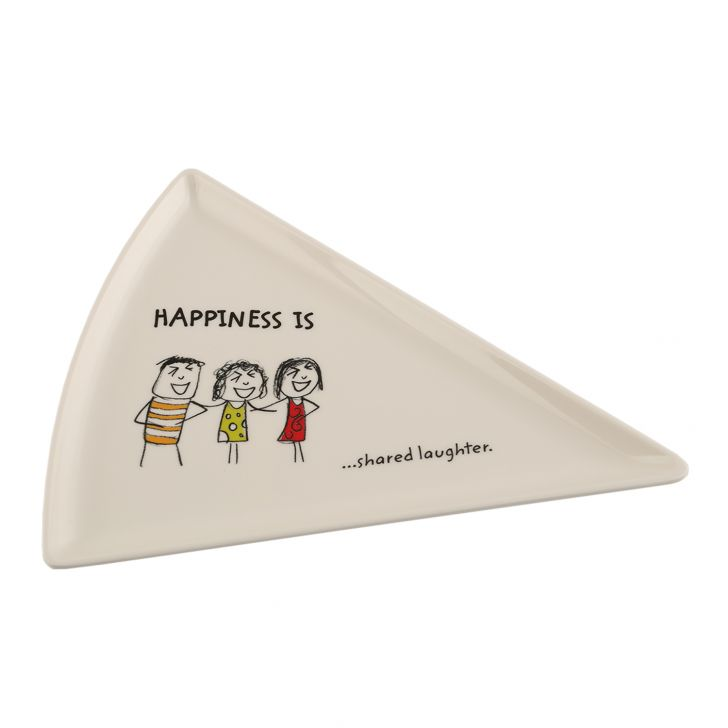 HAPPINESS PIZZA PLATE - Mod,Tableware