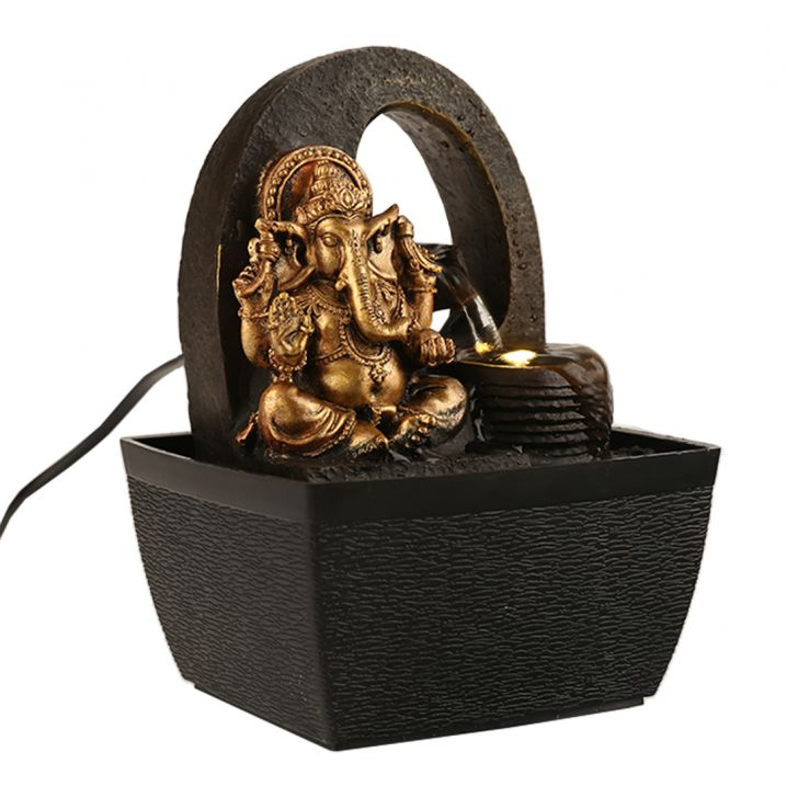 Impression Ganesh with Circular Fountain,Indoor Fountains
