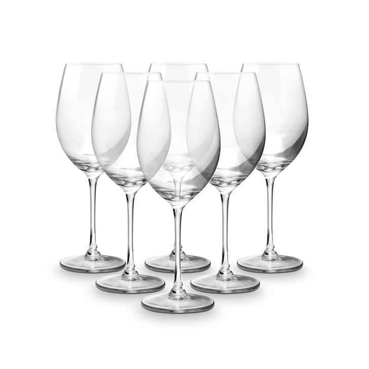 Libbey Glassware Transparent Wine Glass 473 Ml 6 Pcs,Glasses & Tumblers