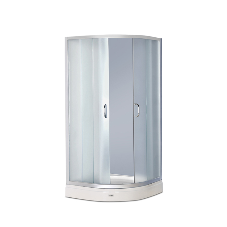 Element Acrylic And Glass Multifunction Shower Room Apollo White,Without Steam