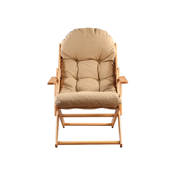 Tulip Folding Chair in Beige Finish,Chairs