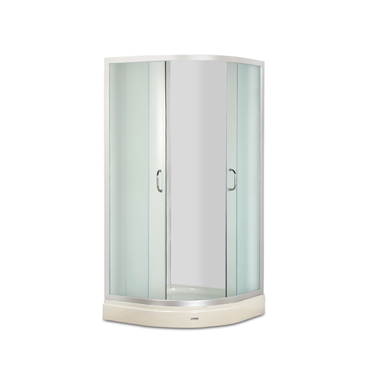 Elite Acrylic And Glass Shower Enclosure Apollo White,Shower Enclosures