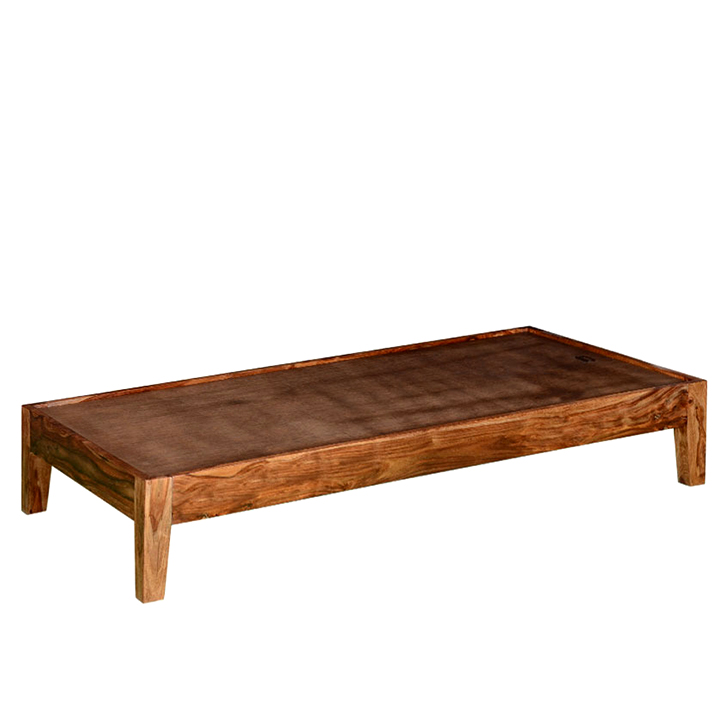 Dilworth Single Bed in Teak Finish,The Big Summer Sale