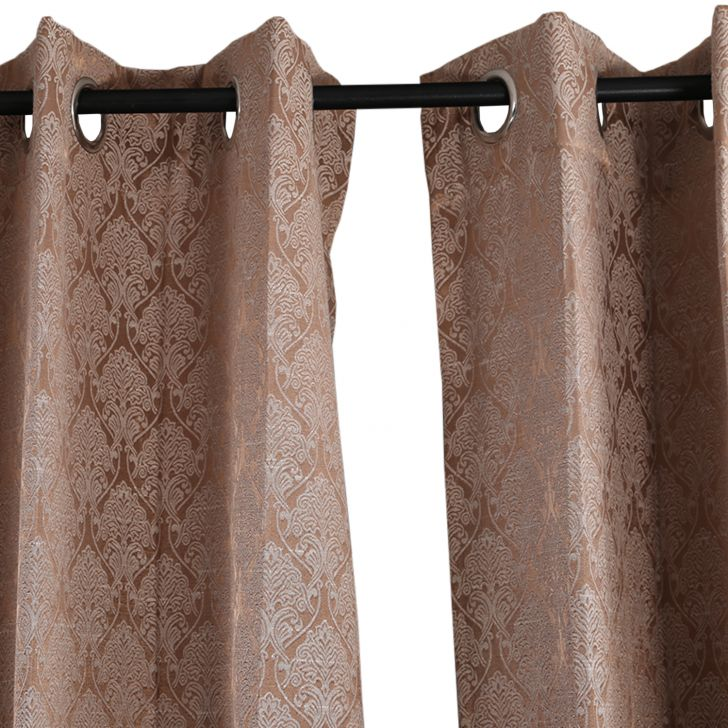 Aspen Window Curtain Brown,Curtains