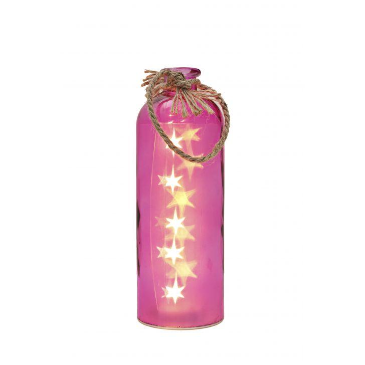 Venus Starlight Cylinder Bottle Pink,Lamps & Lighting
