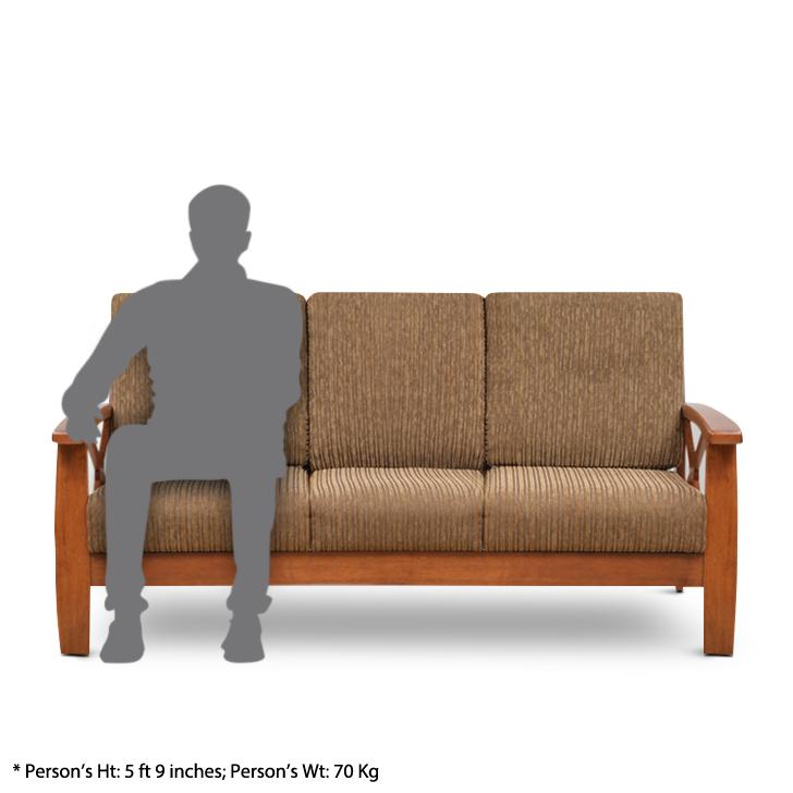 Winston Three Seater Sofa Dirty Oak,All Sofas