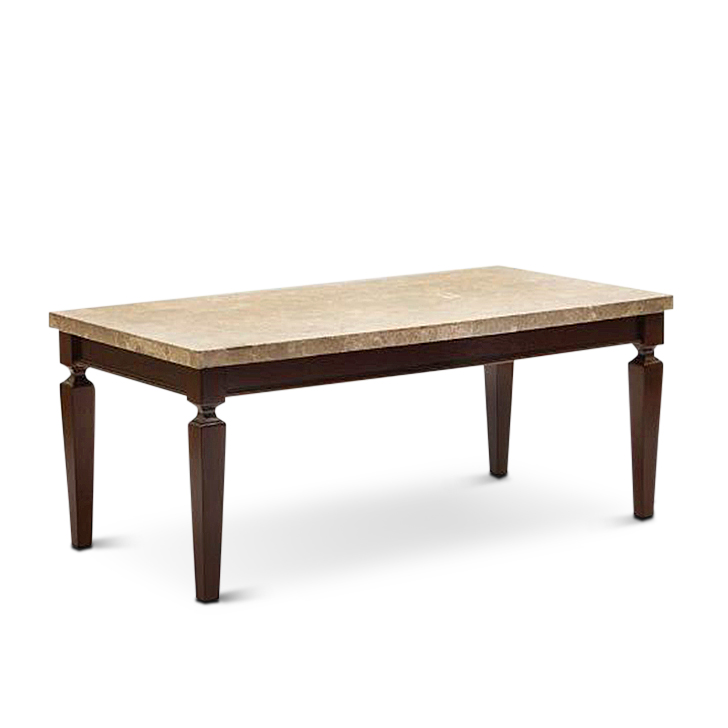 Marble Top Coffee Table India: Buy Bliss Coffee Table Beige And Brown Online In India