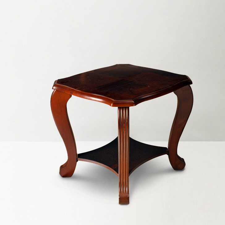 Liana End Table in Brown Finish,Side Tables