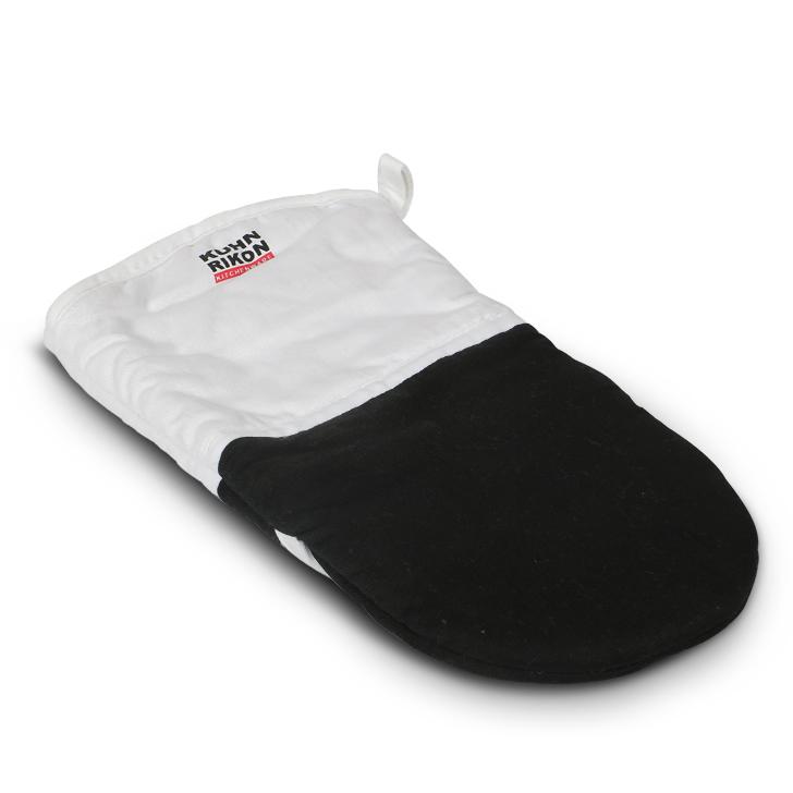 Living Essence Non Slip Oven Glove White And Black,Kitchenware