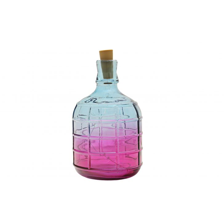 Venus Ombre Embossed Short Bottle Eclectic,Lamps & Lighting