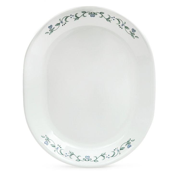 Corelle Country Cottage Serving Platter,Plates