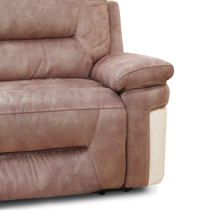 Jupiter Fabric Lounger With Recliner,Recliners