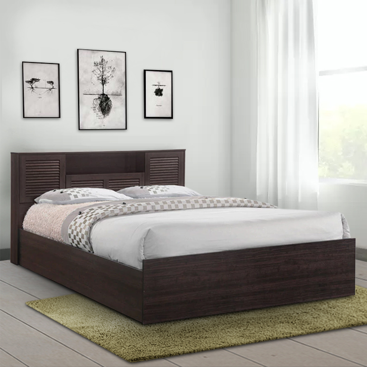 Bolton King Bed with Box Storage in Wenge Finish,HomeTown Best Sellers