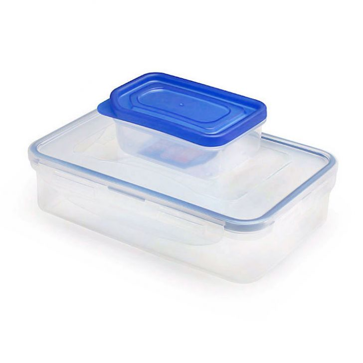Lock & Lock Rectangular Short Food Container  (Lunch Box),Containers