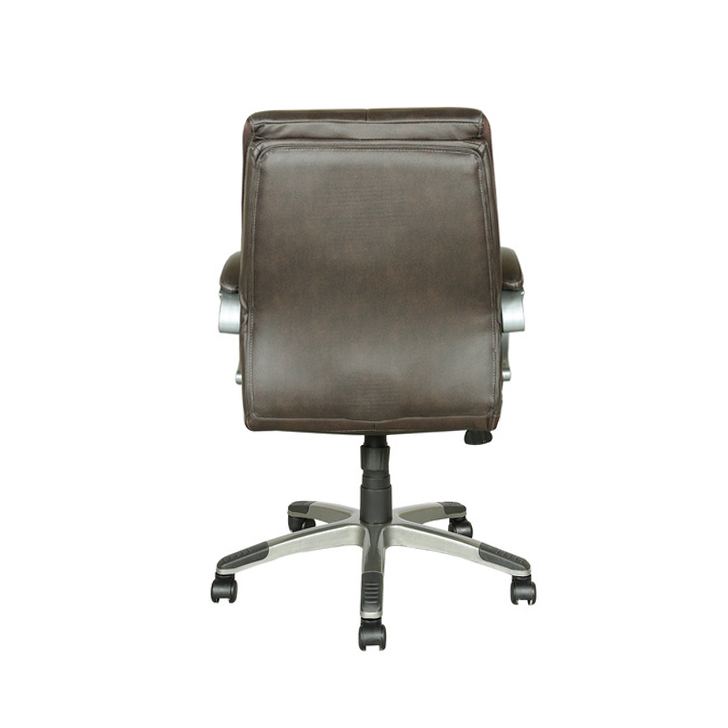 Hugo Medium Back Executive Chair in Brown Colour,Office Chairs