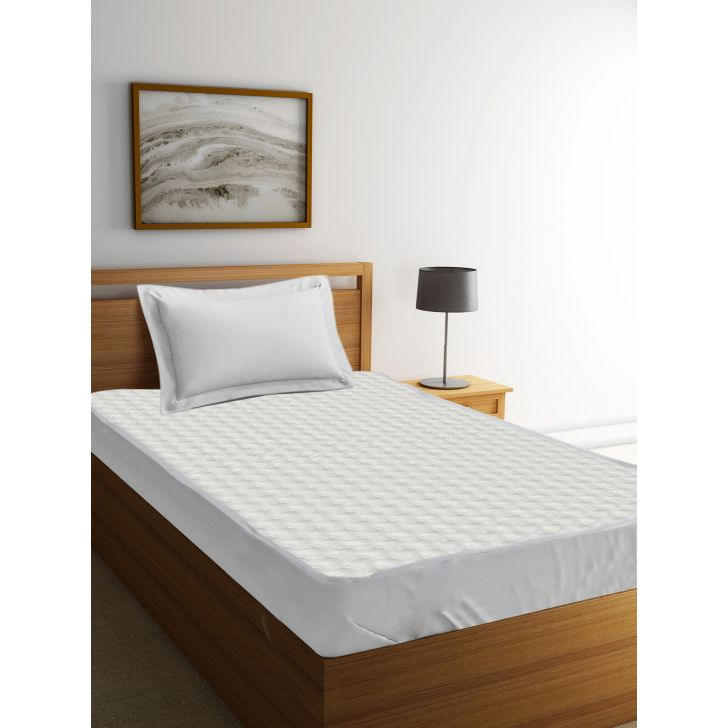 Single Mattress Protector Zen Xp White,Bed Covers