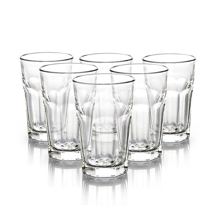 Libbey Dover Tumbler 230 ml 6 Pc,Glasses & Tumblers