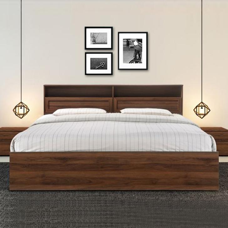 Alyssa King Bed With Box Storage,Furniture