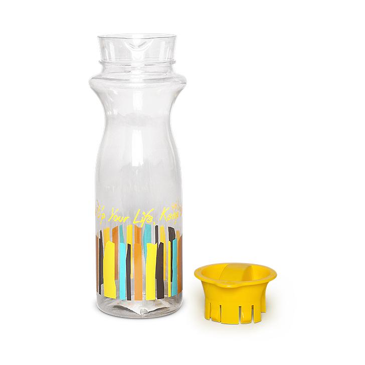 Living Essence Drinking Bottle 1100 ml Mustard,Bottles
