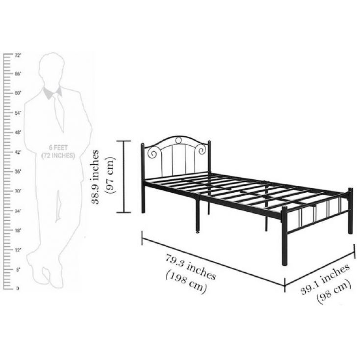 Fiona Single Bed In Metal Without Storage,The Big Summer Sale