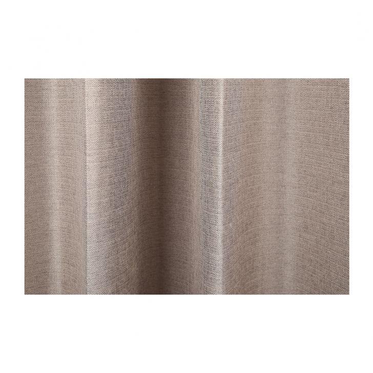 Textura Extra Large Curtain Grey Set of 2,Long Door Curtains
