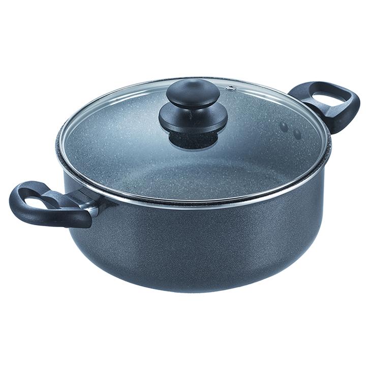 Prestige Omega Deluxe 24 cm Non-Stick Sauce Pan,Cookware