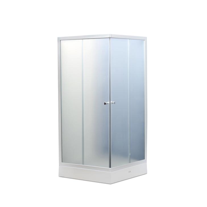 Buy Valentino Acrylic And Glass Shower Enclosure Apollo White Online ...