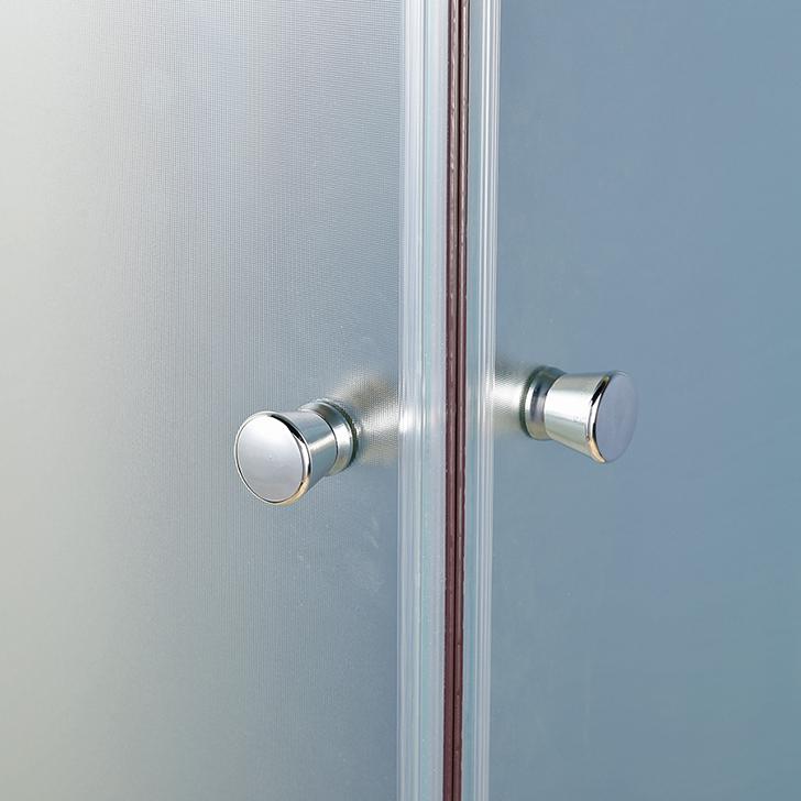 Valentino Acrylic And Glass Shower Enclosure Apollo White,Shower Enclosures