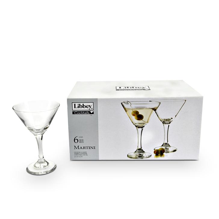 Libbey Martin Cocktail Glass 6 Pcs,Glasses & Tumblers