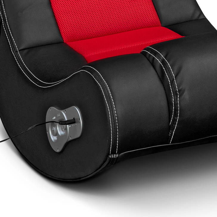 Sonic Music Chair Black And Red,Rocking Chairs