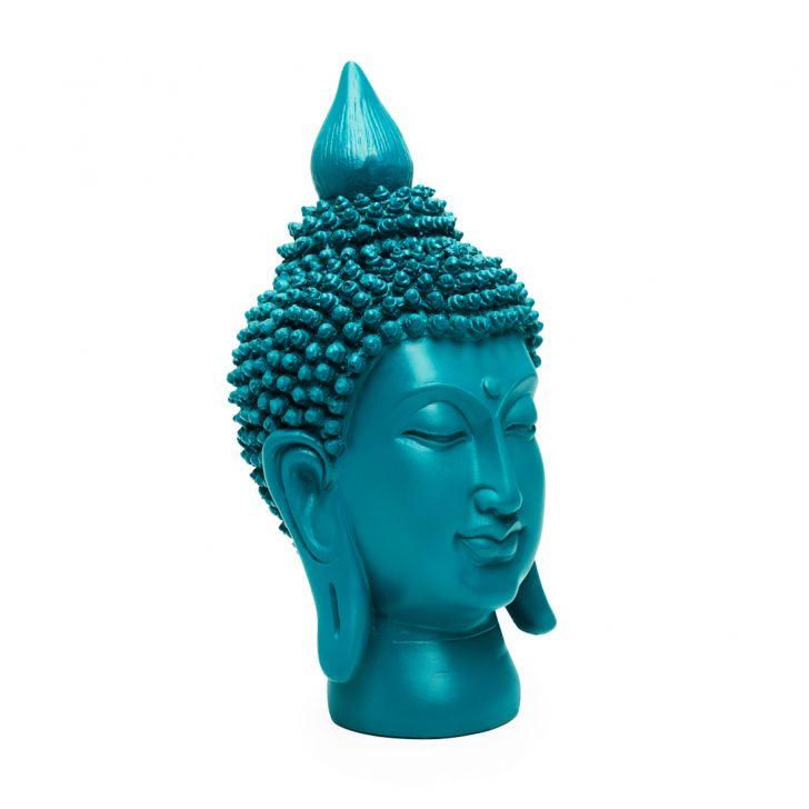 Bliss Buddha Head Cobalt,Buddha