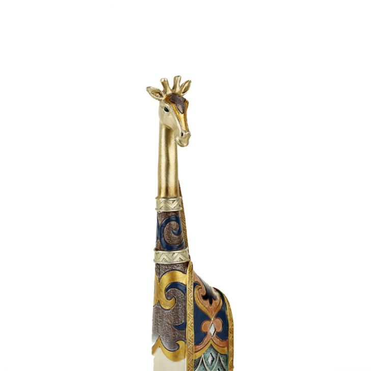 Embellished giraffe figurine,Artifacts
