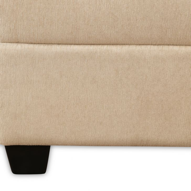 Evanca One Seater Sofa in Beige Colour,Sofas & Sectionals