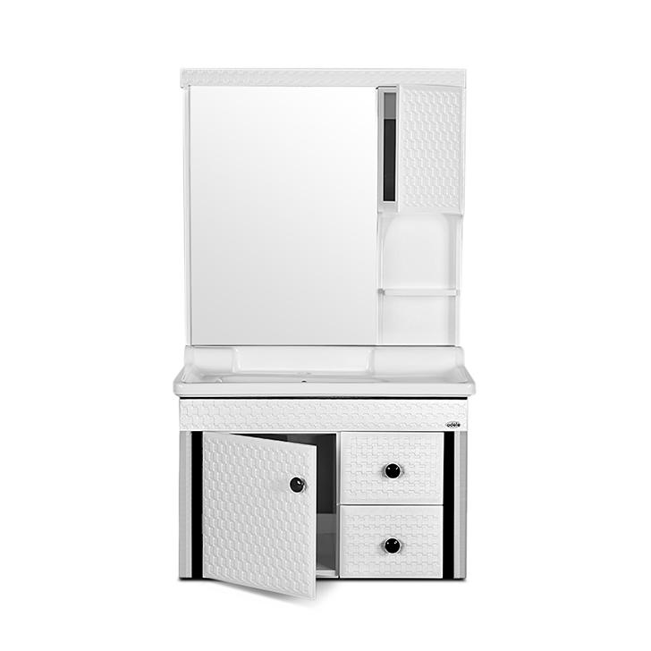 Baltic PVC And Ceramic Vanity White,PVC Vanity